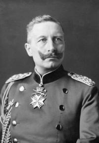 Wilhelm II. im Jahr 1902