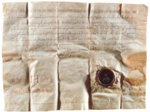 Schenkungsurkunde aus dem Jahr 993